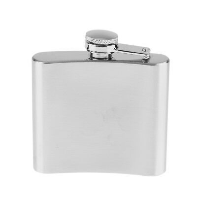 5oz Portable Stainless Steel Liquor Drink Bottle Hip Flask with Copper Cap