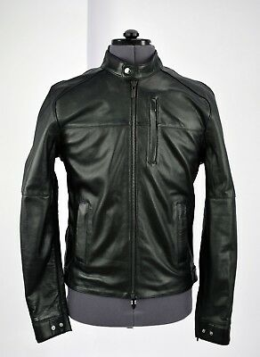 Knox Mens Roscoe Black Leather Motorcycle Jacket