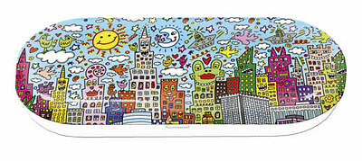 James RIZZI: Brillenetui MY NEW YORK CITY n. 3D Werk, Brille, Etui, neu 1. Wahl