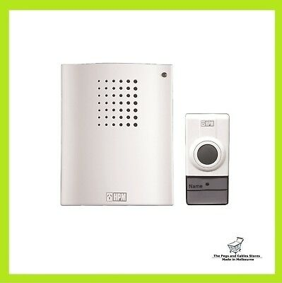 HPM Battery Operated Wireless Door Chime