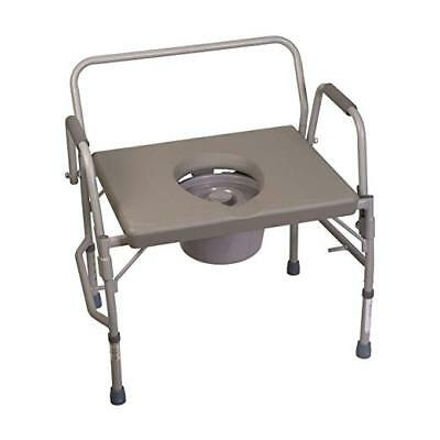 Duro-Med Commode Chair, Heavy-Duty Steel, Toilet Safety Frame