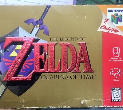 The Legend of Zelda Ocarina of Time Master Quest Nintendo N64 Video Game Eng US