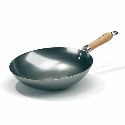 Hot Wok 30 cm Wok Pan made from 1.5 mm Carbon Steel