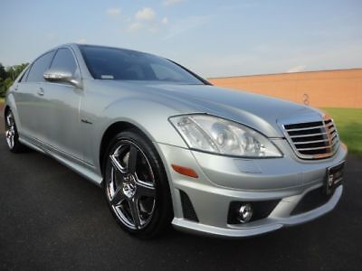 2008 Mercedes-Benz S-Class S63 2008 MERCEDES BENZ S63 AMG P3 PANO ROOF NIGHT VISION REAR SEAT PKG V8 WE FINANCE