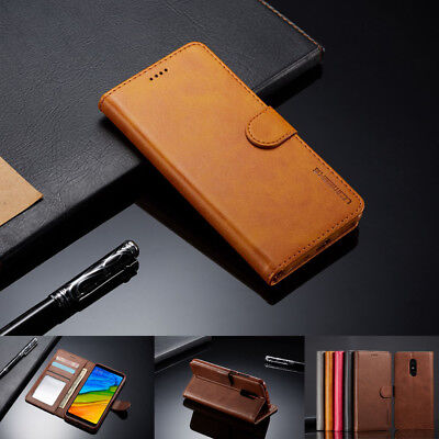 For Xiaomi Redmi 5 Plus/4X/Note 5A/5 Pro Magnetic Leather Wallet Card Case Cover
