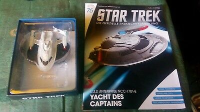 Star Trek Enterprise E Yacht des Captains Beschädigt Eaglemoss