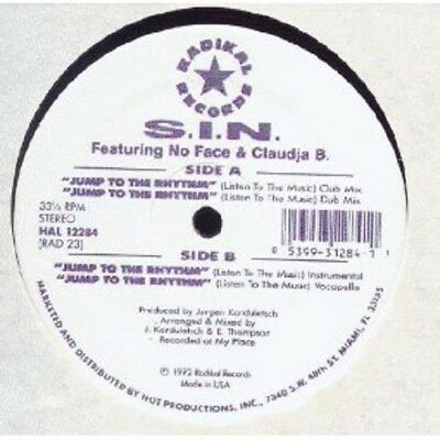 1992 EARLY OLDSCHOOL CHICAGO HOUSE - S.I.N. – Jump To The Rhythm - KORDULETSCH