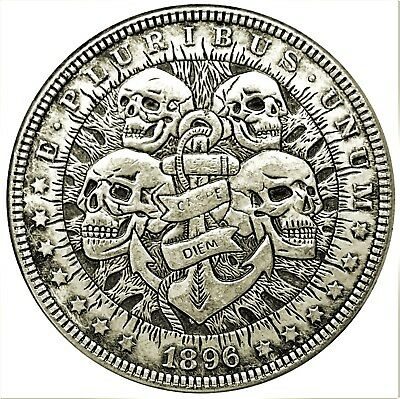 Four Fates Novelty Heads Tails Good Luck Token Coin US SELLER FAST SHIPPING