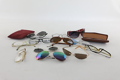 Job Lot of Vintage Glasses & Sunglasses Mixed Designs Inc. Rolled Gold