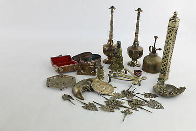 25 x Vintage Decorative Brass&Copper Wares Mixed Designs & Styles -3426g