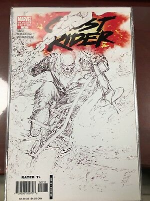 Ghost Rider #1 Marc Silvestri Sketch Variant NM
