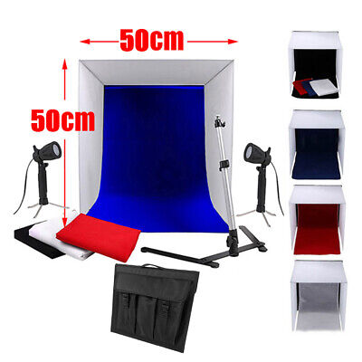 50cm Tent Photography Soft Box Light Tent Cube Photo Studio Softbox Lighting Kit