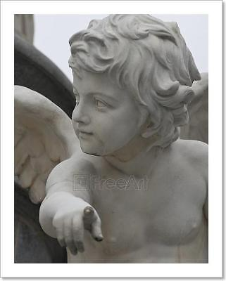 Angel Pointing At You Art Print Home Decor Wall Art Poster - E