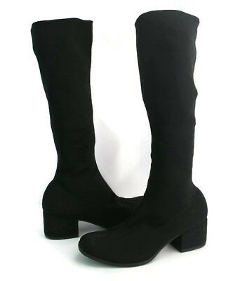 486b1469637 VAGABOND WOMEN S BLACK Round Toe Over The Knee High Boots Size 37 EU ...