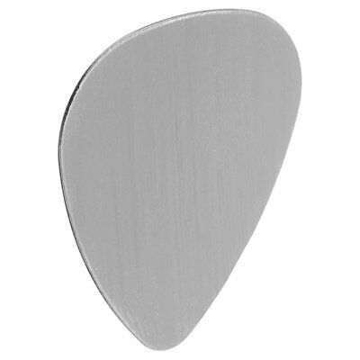 20x Silver Guitar Pick No Hole Blank Stamping, 26.6*30mm O1P1