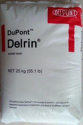2Lb (Black) Delrin Acetal Resin 900P Plastic Injection Molding Pellets