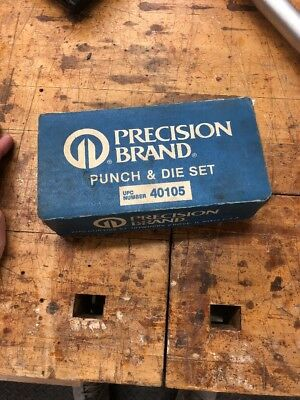 Precision Brand Punch And Die Set 40105
