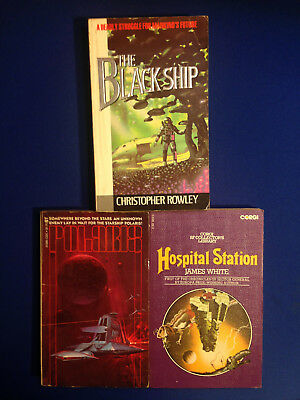 3 Novels by Christopher Rowley, James White, and Sheldon Perkins