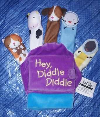 Hey Diddle Diddle Glove Finger Puppet Glove Baby Toddler Sensory Development