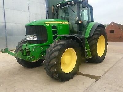 2007 John Deere 7530 Premium 50kph Power-Quad Very Good Condition!