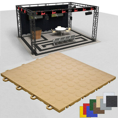 Trade Show Floor Portable |Beige Coin|Made in the USA