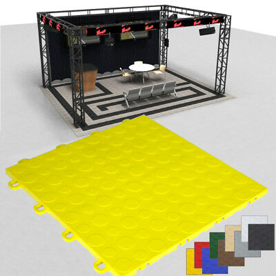 Affordable Trade Show Floor|Yellow Coin|Made in USA