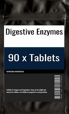 90 x Digestive Enzymes Daily for healthy digestion tablets