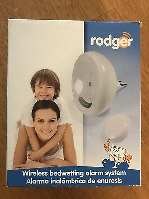 Used-Roger Wireless Bedwetting alarm system