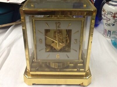 Le Coultre & Atmos Vintage Clock (not working)