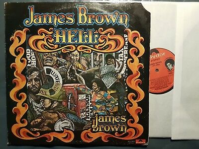 Funk double LP JAMES BROWN It's Hell POLYDOR (USA, 1974) foldout cover