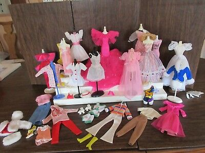 Big Lot Of Barbie Clothing & Accessories