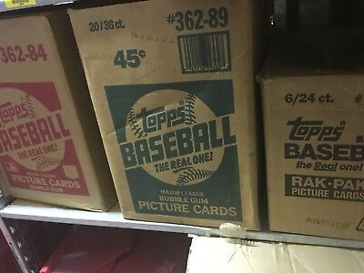 Old Baseball Card - Unopened Packs fr Wax Box.  Huge Vintage 115+ Card Lot