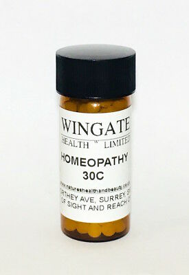 7g Homeopathy/ Homeopathic Remedy 30C - CHOOSE YOUR REMEDY 10% off 3 or more!!