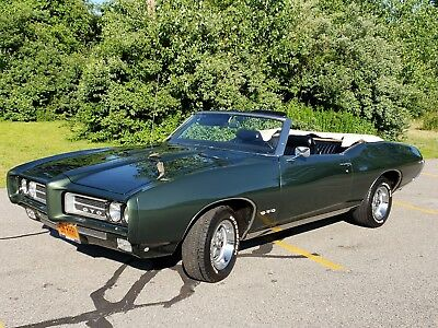 1969 Pontiac GTO REAL DEAL GTO 242 VIN # 1969 PONTIAC GTO CONVERTIBLE. REAL DEAL 242 GTO VIN. 400/ 4 SPEED FULLY RESTORED
