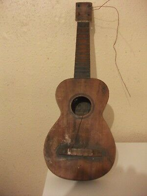 Old Ukulele By Manuel Lopez 1920's. Needs Attention, Strings & Tuners