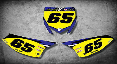 Custom graphics for Yamaha YZ 65 DIGGER STYLE full sticker kit decals / graphics