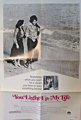 1977 One Sheet Movie Poster YOU LIGHT UP MY LIFE 27x41 Folded (C)
