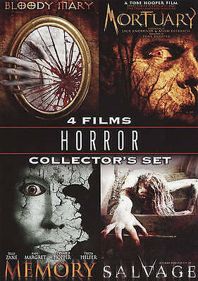 Horror Collector Set (DVD, 2009, 4-Disc Set) Bloody Mary/Mortuary/Memory/Salvage