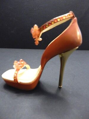 """Just the Right Shoe by RAINE 2006 """"ROCKS""""  Ankle Strap STILETTO High Heel  EUC"""