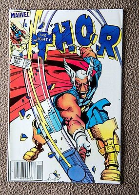 Mighty Thor #337 (1983) Key issue, First Beta Ray Bill. High Grade