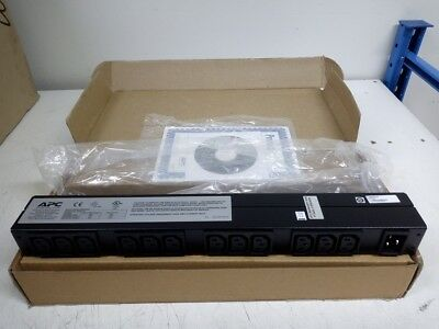 APC AP9565 Basic Rack 12-Outlet Power Distribution Unit w/Rack ears