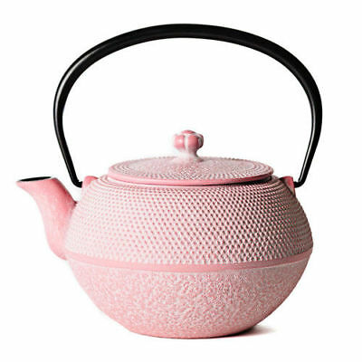 """""""OIGEN"""" ironware teapot / pink made in iwate (japan) F/S"""