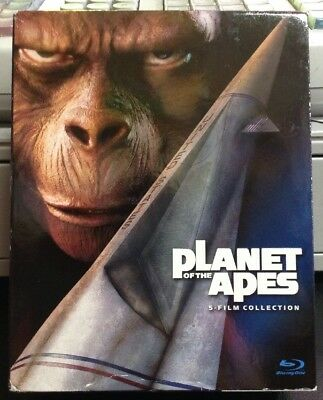 Planet of the Apes: 5-Film Collection (Blu-ray Disc, 2012, 5-Disc Set) COMPLETE