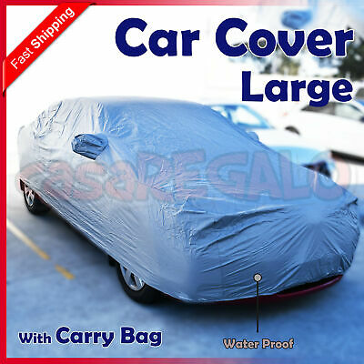 L Car Cover Lightweight Waterproof Dust Hail Large Sun Ute Universal Weather