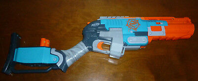 *RARE* Nerf Zombie Strike Sledgefire Soft Dart Blaster With One Dart Shell