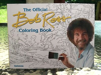 The Official Bob Ross Coloring Book Ross Bob New Paperback