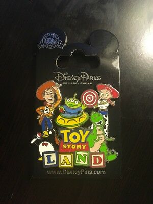 Disney Pin - Toy Story Land - Park Logo Pin