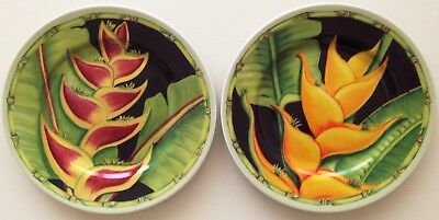 Andrea by Sadek HELICONIA by Siddhia Hutchinson SALAD Plates (Set of 2)