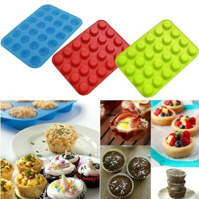 NEW 24 Cup Mini Muffin Pan Cupcake Cup Cake Tray Bake Baking Mold cook Mould Y