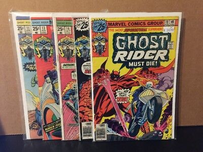 Ghost Rider 11 13 14 18 19 Lot Marvel Comics Combine Shipping Bronze Age